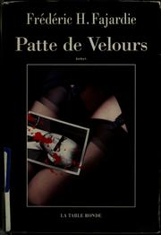 Cover of: Patte de velours