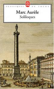 Cover of: Soliloques