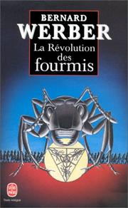 Cover of: La Révolution des fourmis