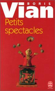 Cover of: Petits Spectacles