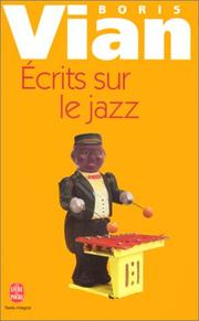 Cover of: Ecrits sur le jazz