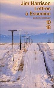 Cover of: Lettres à Essenine (édition bilingue français/anglais)