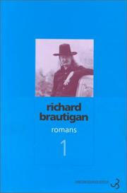 Cover of: Romans, tome 1