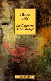 Cover of: Les Disparus de Saint-Agil