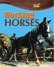 Cover of: Working Horses (Horse Power)