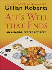 Cover of: All's Well That Ends (Wheeler Large Print Book Series)