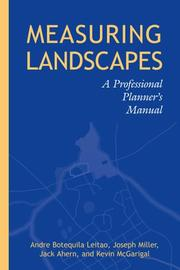 Cover of: Measuring Landscapes