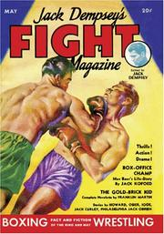 Cover of: Jack Dempsey's Fight Magazine - May 1934