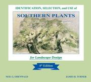 Cover of: Identification, Selection, and Use of Southern Plants