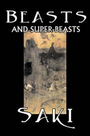 Cover of: Beasts and Super-Beasts