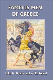Cover of: Famous Men of Greece (Yesterday's Classics)
