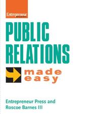 Cover of: Public Relations Made Easy