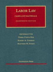 Cover of: Labor Law