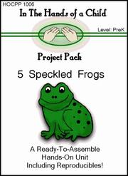 Cover of: 5 Speckled Frogs