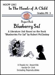Cover of: Blueberry Sal