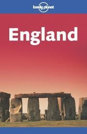 Cover of: Lonely Planet England
