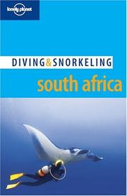 Cover of: Lonely Planet Diving & Snorkeling South Africa (Lonely Planet Diving and Snorkeling Guides)