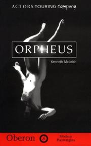 Cover of: Orpheus
