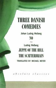 Cover of: Three Danish Comedies