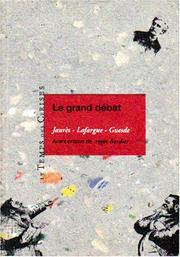 Cover of: Le grand débat