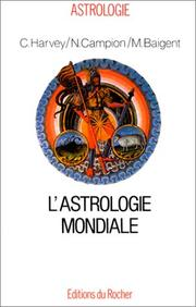 Cover of: L'Astrologie Mondiale
