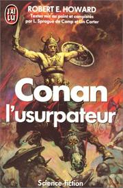 Cover of: Conan l'usurpateur