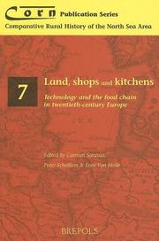 Cover of: Land, shops and kitchens
