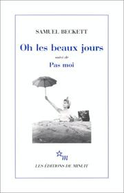 Cover of: Oh les beaux jours