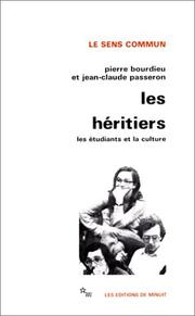 Cover of: Les Héritiers