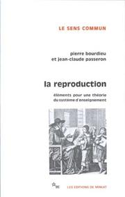 Cover of: La Reproduction