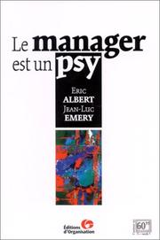 Cover of: Le manager est un psy