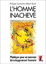 Cover of: L'homme inachevé