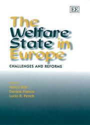 Cover of: The welfare state in Europe