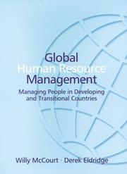 Cover of: Global Human Resource Management