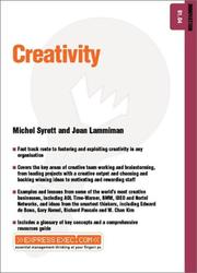 Cover of: Creativity (Express Exec)