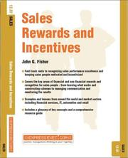 Cover of: Sales Rewards and Incentives (Sales)