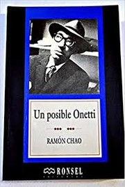 Cover of: Un posible Onetti
