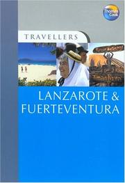 Cover of: Travellers Lanzarote & Fuerteventura