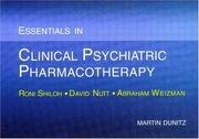 Cover of: Essentials in Clinical Psychiatric Pharmacotherapy
