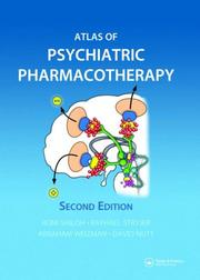 Cover of: Atlas of Psychiatric Pharmacotherapy, Second Edition