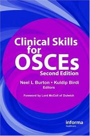 Cover of: Clinical Skills for OSCEs, Second Edition