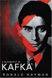 Cover of: A Biography of Kafka