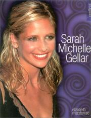 Cover of: Sarah Michelle Gellar