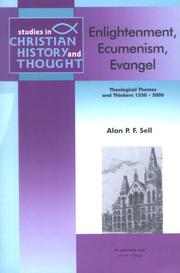 Cover of: Enlightenment, Ecumenism, Evangel