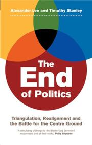 Cover of: The End of Politics
