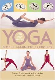 Cover of: Yoga for Busy People