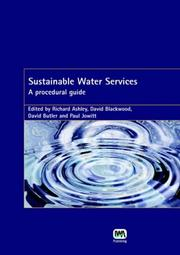 Cover of: Sustainable Water Services