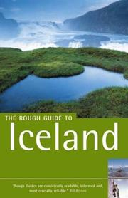 Cover of: The Rough Guide to Iceland 2 (Rough Guide Travel Guides)
