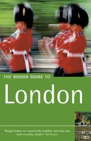 Cover of: The Rough Guide to London 6