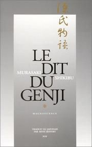 Cover of: Le Dit du Genji, 2 volumes: Magnificence- Impermanence